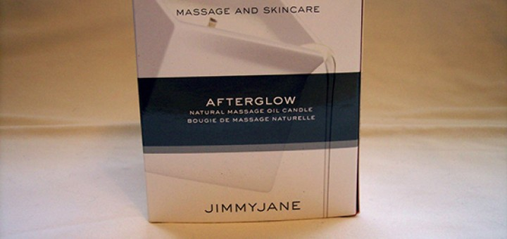 Jimmyjane Afterglow candle