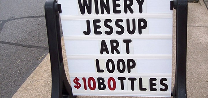 Capra Collina Winery Jessup Art Loop