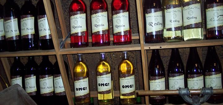 Capra Collina Winery wine