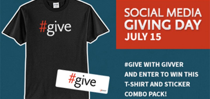 Social Media Giving Day prize pack