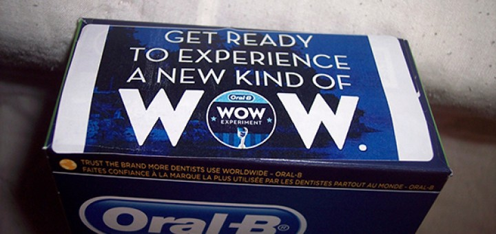Oral-B WOW Experiment