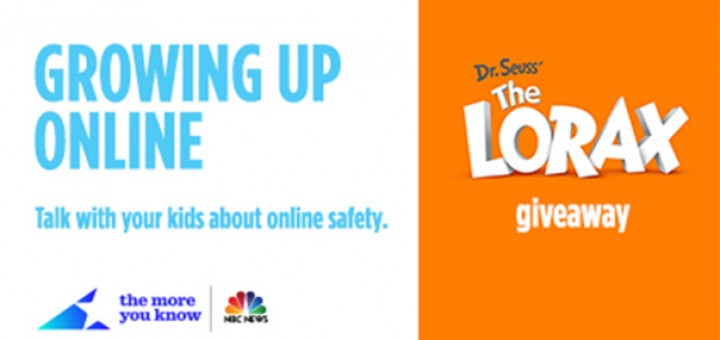 Growing Up Online Lorax giveaway