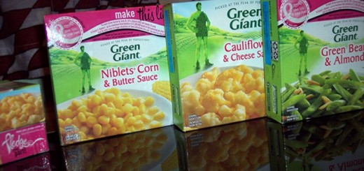 Green Giant frozen boxed vegetables