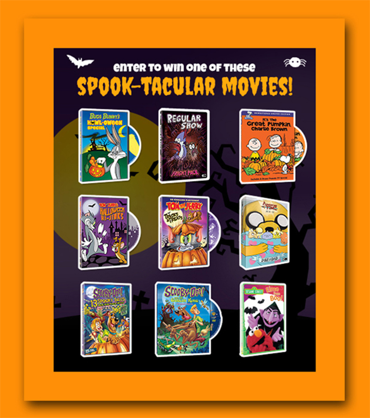 Warner Bros Spook-Tacular Movie Giveaway