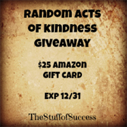 Random Acts of Kindness Giveaway Event