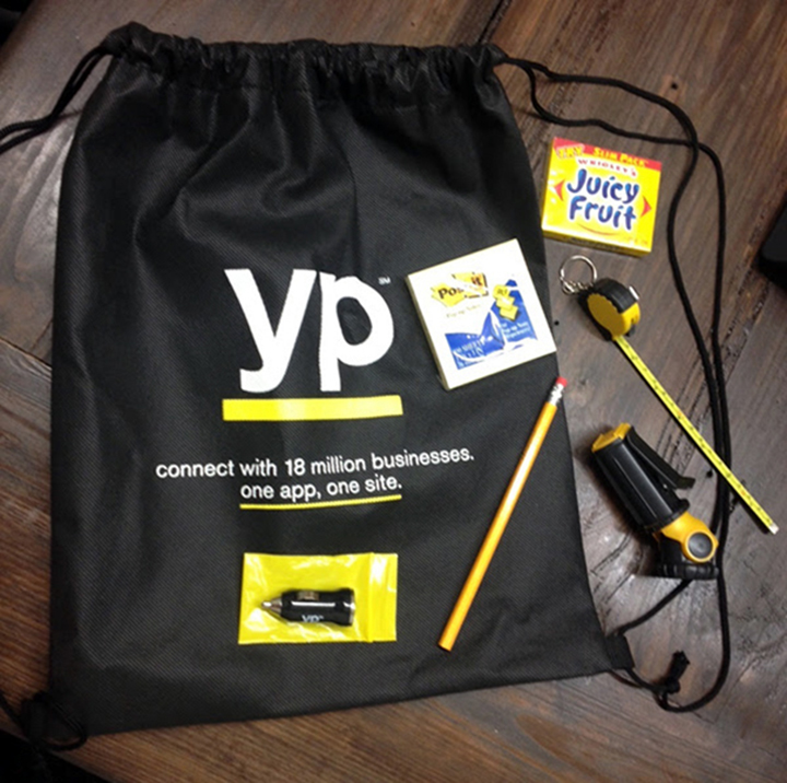 Yellow Pages Prize Pack