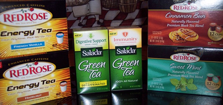 Salada Green Tea and Red Rose Teas giveaway