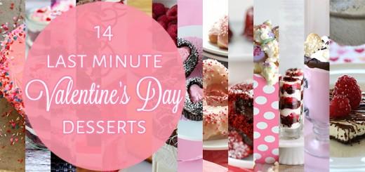 14 last minute Valentine's Day desserts