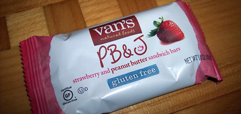 Van's Natural Foods sandwich bar
