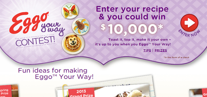 Eggo Your Way Recipe Contest