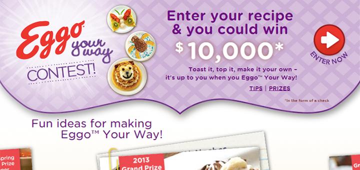 Eggo Your Way Recipe Contest