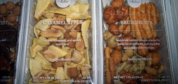 Nibblr Caramel Apple & Bruschetta
