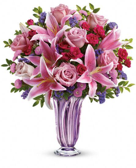 Teleflora Lavender Grace Bouquet