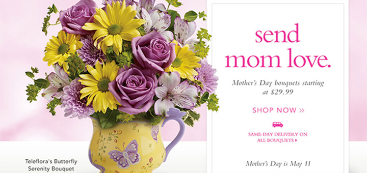 Teleflora Mother's Day