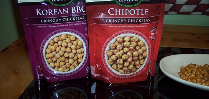 Saffron Road Crunchy Chickpeas Korean BBQ & Chipotle