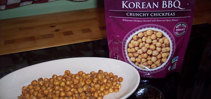 Saffron Road Crunchy Chickpeas Korean BBQ