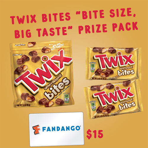 TWIX Bites Prize Pack Giveaway
