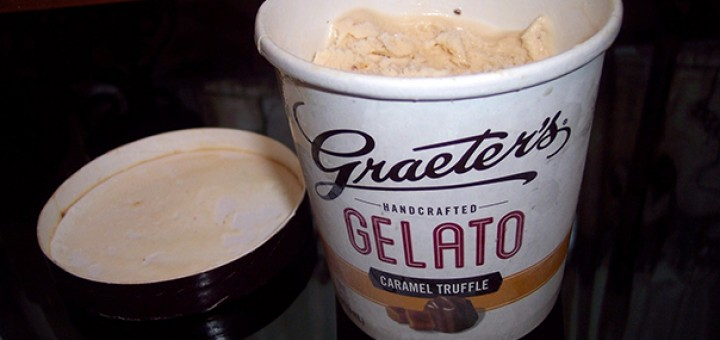 Graeter's Caramel Truffle Gelato