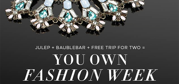 Fashion Week 2015 giveaway