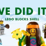 Greenpeace LEGO blocks Shell
