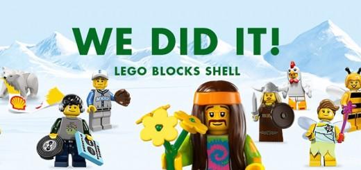 Greenpeace LEGO blocks Shell