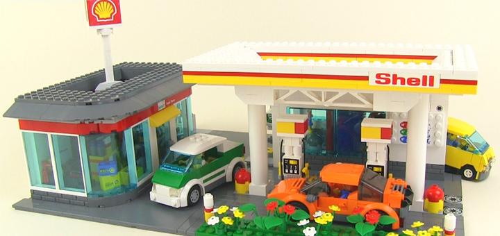 Shell LEGO playset