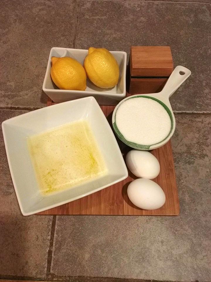 blueberry lemon bread ingredients