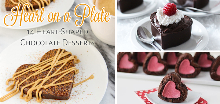 14 Heart-Shaped Chocolate Desserts