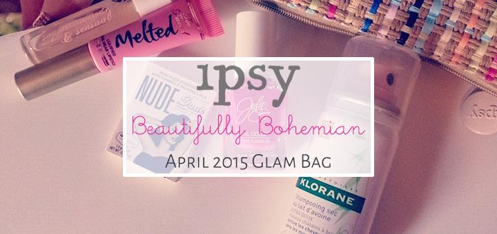 ipsy April 2015 Glam Bag