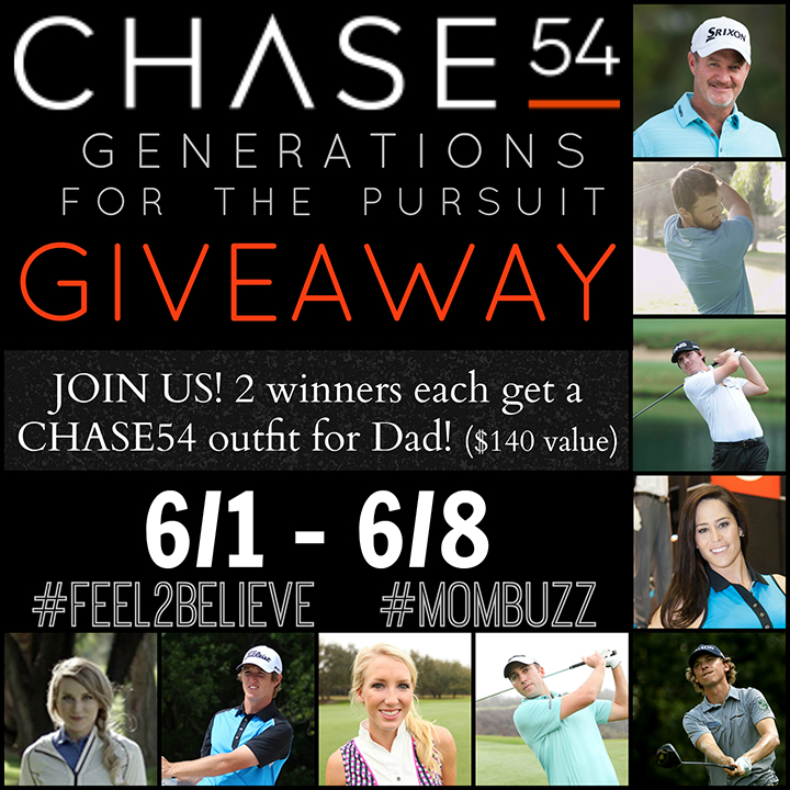 CHASE54 giveaway