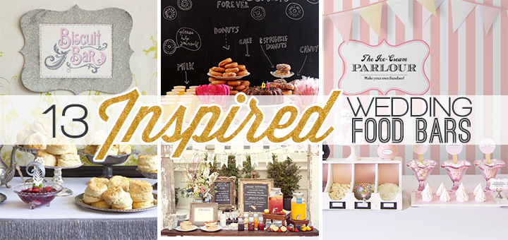 wedding food bars