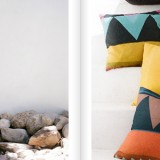 Nine Space decorative pillows