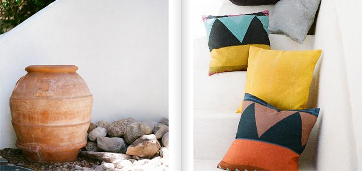 Nine Space decorative pillows