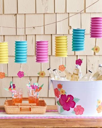 summer party decor