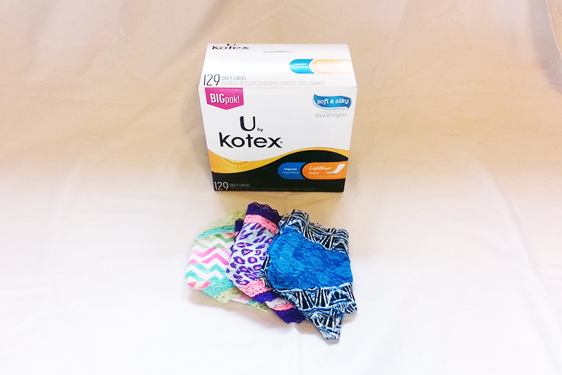 U by Kotex Lightdays Liners