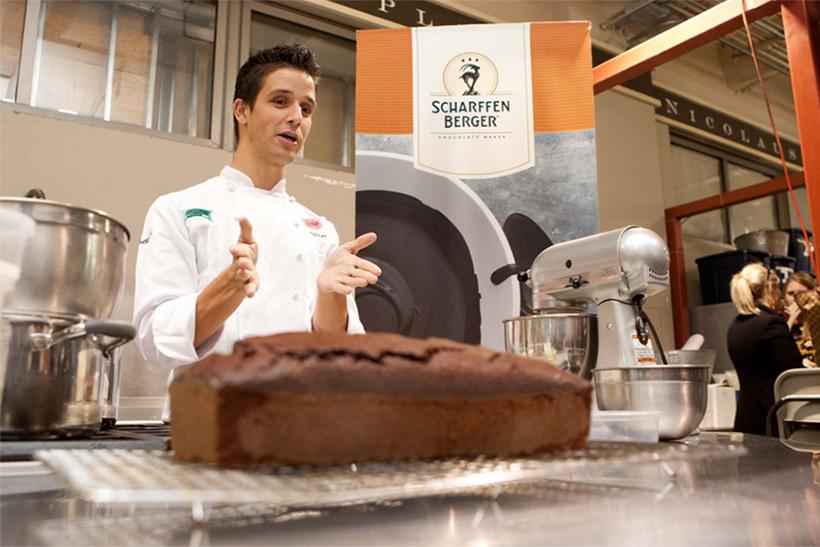 Scharffen Berger baking class