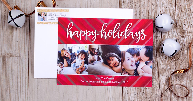 Mixbook holiday card