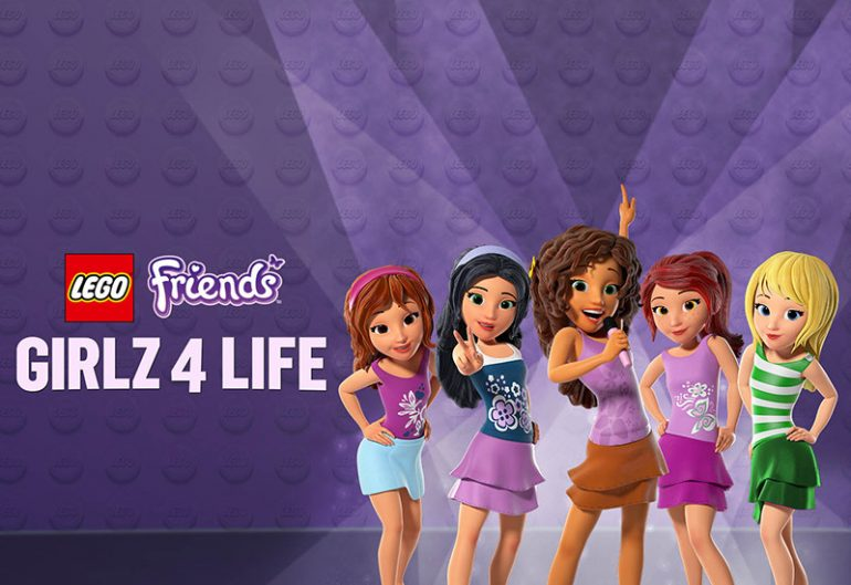 It's Your Friends That Count in 'LEGO Friends: Girlz 4 Life' - Blu ...