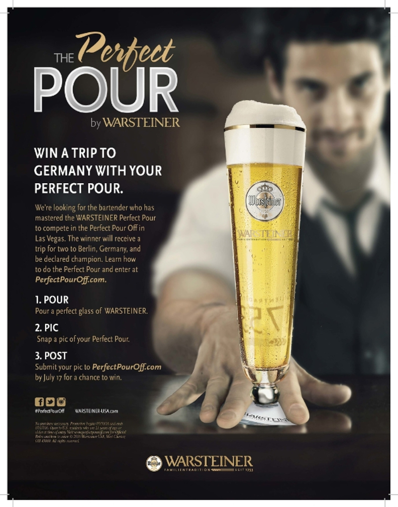 Perfect Pour by Warsteiner