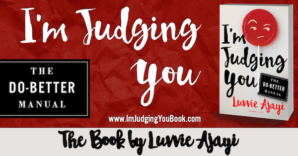I'm Judging You book banner