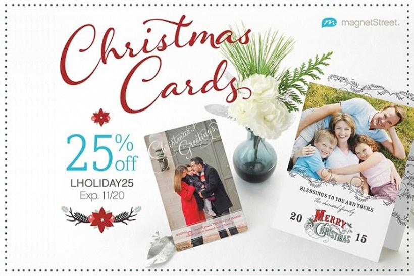 MagnetStreet Christmas cards